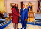 Profeetta ja Kongon presidentti kohtaavat 10.7.2014.