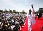 Kansalinen parannuksen teon päivä Nairobissa, Keniassa 24.2.2013. Presidenttiehdokkaat sekä pääministeri olivat myös paikalla!
